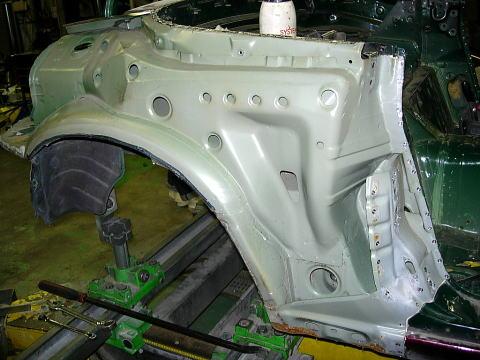 Wheel Arch rear quarter panel fender 89-98 Mazda Miata rust repair Left Side